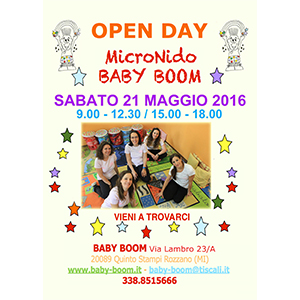 Open Day Maggio