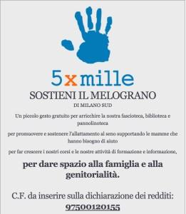 5 per mille Melograno