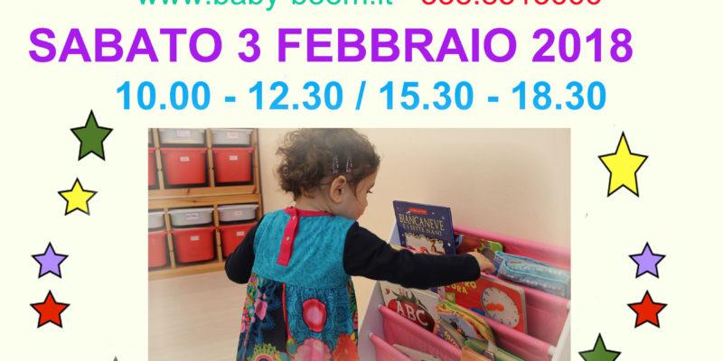Open day 3 febbraio 2018