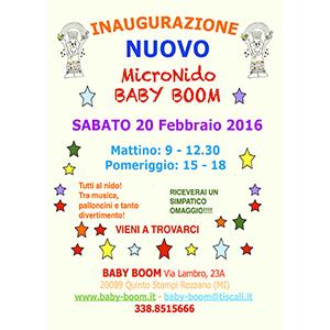 Inaugurazione Baby Boom